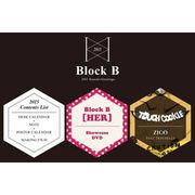 韓国スターグッズ Block B(ブロックビー)- 2015シーズングリティング