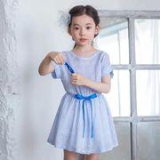 格安!3-4-5-6-7セット★NEW★女児★ストライプ★プリント★蝶結び★ワンピ★ドレス
