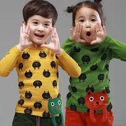 格安!!NEW★子供服★幼児★プルオーバー★Tシャツ★猫★プリント★ニャンコ