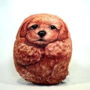 【HenryCats&Friends】ヘンリーキャット イヌ型クッション 中 ミミ インテリア 犬 イヌ 雑貨