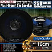 上級モデル カースピーカー TS-A1647S 2WAY 16cmタイプ MAX250W 自動車 カーオーディオ スピーカー
