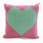 【代引不可】Peking Handicraft/30LFH3209DC18SQ/GREEN HEART/クッションカバー