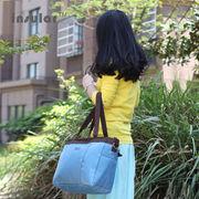 色切り替え色切り替え便利産前産後使用可ベビー用品入れ大容量おしゃれママバッグ