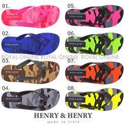 値下★【HENRY&HENRY】 フリッパー(ビーチサンダル) カモフラージュ 全8色 レディース&メンズ