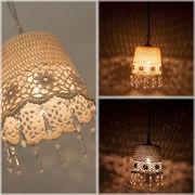 �yChandelier French Lace Ceiling Lamp�z���[���b�p�����t�����`���[�X �V�[�����O�����v��