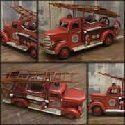 ���@�y VINTAGE CAR FIRE DEPT �z�@�����g���� ���B���e�[�W�J�[ �r���e�[�W�J�[ �t�@�C�ADEPT��