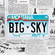 好きな文字にできるアメリカナンバープレート(中・USバイク用サイズ)モンタナ