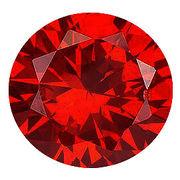 カラーダイヤモンド ブリリアントカット ルース レッドコニャック/約1.0-2.4mm