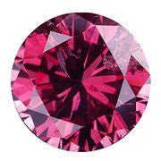 カラーダイヤモンド ブリリアントカット ルース パープル/約1.0-1.9mm