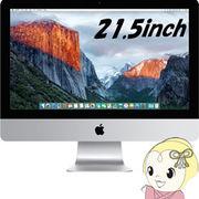 APPLE 21.5型フルHD液晶 デスクトップパソコン iMac MK442J/A [2800]