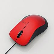 エレコム 静音有線マウス(3ボタン) M-BL24UBSRD