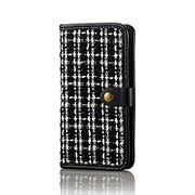 エレコム iPhone 6s / 6用手帳型カバー/ツイード PM-A15PLFXTW1