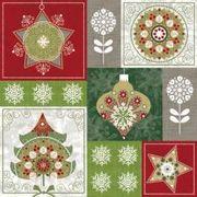 Paw Decor Collection ペーパーナプキン クリスマス オーナメント ツリー