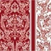 Paw Decor Collection ペーパーナプキン レッド ロイヤルパターン