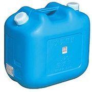 北陸土井 日本製 Japan 灯油缶ワイド20L JISマーク付 ブルー