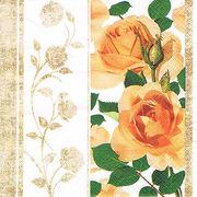 Paw Decor Collection ペーパーナプキン ゴールデンローズ バラ