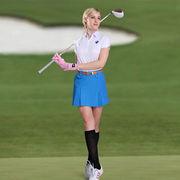 格安! スポーツウェア★ゴルフウェア★速乾吸湿★スカート★レギンスパンツ★安全パンツ付★XS-XL