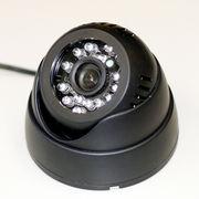【夜間もバッチリ】赤外線LED搭載防犯カメラ