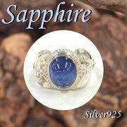 リング / 11-0075s  ◆ Silver925 シルバー リング サファイア 15号
