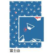 【ご紹介します!安心の日本製!和柄で人気のプリント手ぬぐい!小紋調】富士山