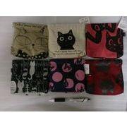 2016春★帆布 猫のパックンポーチ 全6種