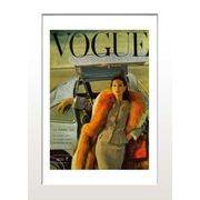 ИVoque's Poster series【Vogue Paris Octobre 1955】