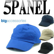 BX008 Big Accessories 5Panel BrushedCap  14505