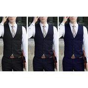 高品質スーツベスト  結婚式  メンズ ビジネス  通勤オールシリーズ  紳士 チョッキ  礼服