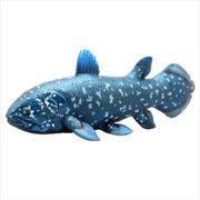 古代魚 ビッグサイズフィギュア ソフトビニールモデル/シーラカンス