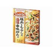 【代引不可】AJINOMOTO 味の素 CookDo 豚肉ともやし香味炒め 100g x10