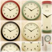【SALE/値下げ】★ティンウォールクロック♪Frais(フライス)【壁掛時計】