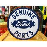アメリカンブリキ看板 フォード -GENUINE PARTS-