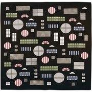 宮本 和雑貨 『おかみさんの小風呂敷』 格子窓 6323 50×50cm
