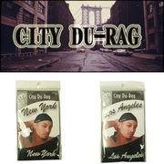 刺繍入りドゥーラグ『CITY DU-RAG』