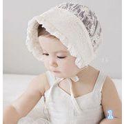 同梱でお買得★帽子★夏用★超可愛い子供帽子★帽子★可愛い★2色