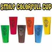 OK:スマイルカラフルカップ【6色アソート】