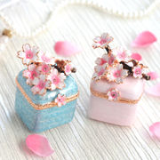 宝石箱 ジュエリーボックス 【小枝桜】