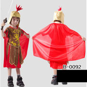 激安☆子供★ダンス・パーティー★コスチューム★cosplay★ローマの騎士扮装★帽子+ローブ+マント