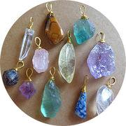 bc136451◆5000以上【送料無料】◆色々な天然宝石 ペンダント クリスタル