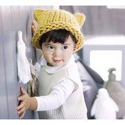 新登場!!★可愛いおしゃれキッズ帽子★ニット帽子★おすすめ帽子