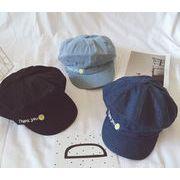韓国風★おしゃれ帽子★親子用ファションキャップ★ベレー帽子