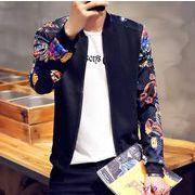ジャケット♪ホワイト/ブラック/ネイビー3色展開◆【春夏新作】