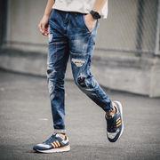 【ニュースタイル !!】アクリル★秋冬★男★ズボン★カジュアルパンツ★ジーンズ