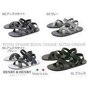 値下★【HENRY&HENRY】 サーフ サンダル 全4色 メンズ