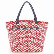 LeSportsac 7470 D842 Travel Daisy Red �X���[���G�u���K�[���g�[�g Small Everygirl Tote  ���f�B�[�X�c