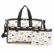 LeSportsac 7184 D836 Roadtrip Vaca Cream �~�f�B�A���E�B�[�N�G���_�[ Medium Weekender  ���f�B�[�X �c
