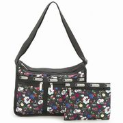 LeSportsac 7507 D839 School'S Out �f���b�N�X�G�u���f�C�o�b�O Deluxe Everyday Bag  ���f�B�[�X �g�[�c
