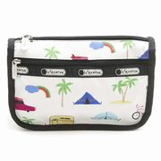 LeSportsac 7315 D836 Roadtrip Vaca Cream �g���x���R�X���e�B�b�N Travel Cosmetic  ���f�B�[�X  �|�[�c