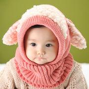★秋冬スタイル新作★上品新型キッズ・ベビードレス★暖かい帽子