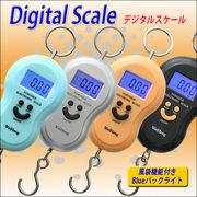 【日本語パッケージ!】可愛い吊り下げ型デジタルスケール☆10gから40kgまで☆ 4色